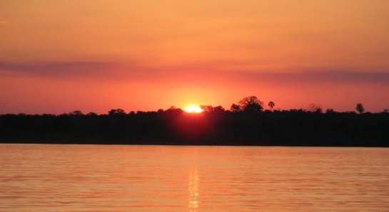 Sunset whilst voluteering in Zambia