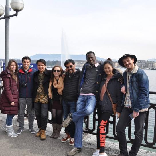 Maria Rita, Guillermo, Pedro, Martina, Juan Carlos, Prence, Gabby & Pietro (L-R)