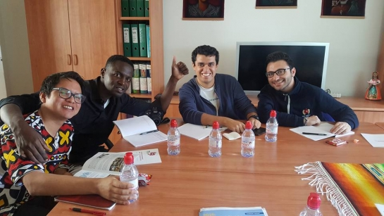 Pedro, Prence, Guillermo and Zareh (L-R)
